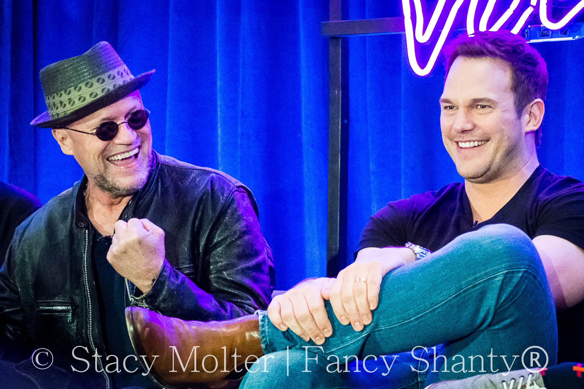 Chris Pratt, Michael Rooker- MARVEL's Guardians of the Galaxy 2 Press Conference