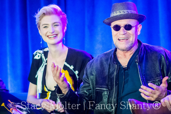 Elizabeth Debicki , Michael Rooker - MARVEL's Guardians of the Galaxy 2 Press Conference