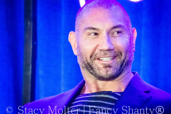 Dave Bautista - MARVEL's Guardians of the Galaxy 2 Press Conference