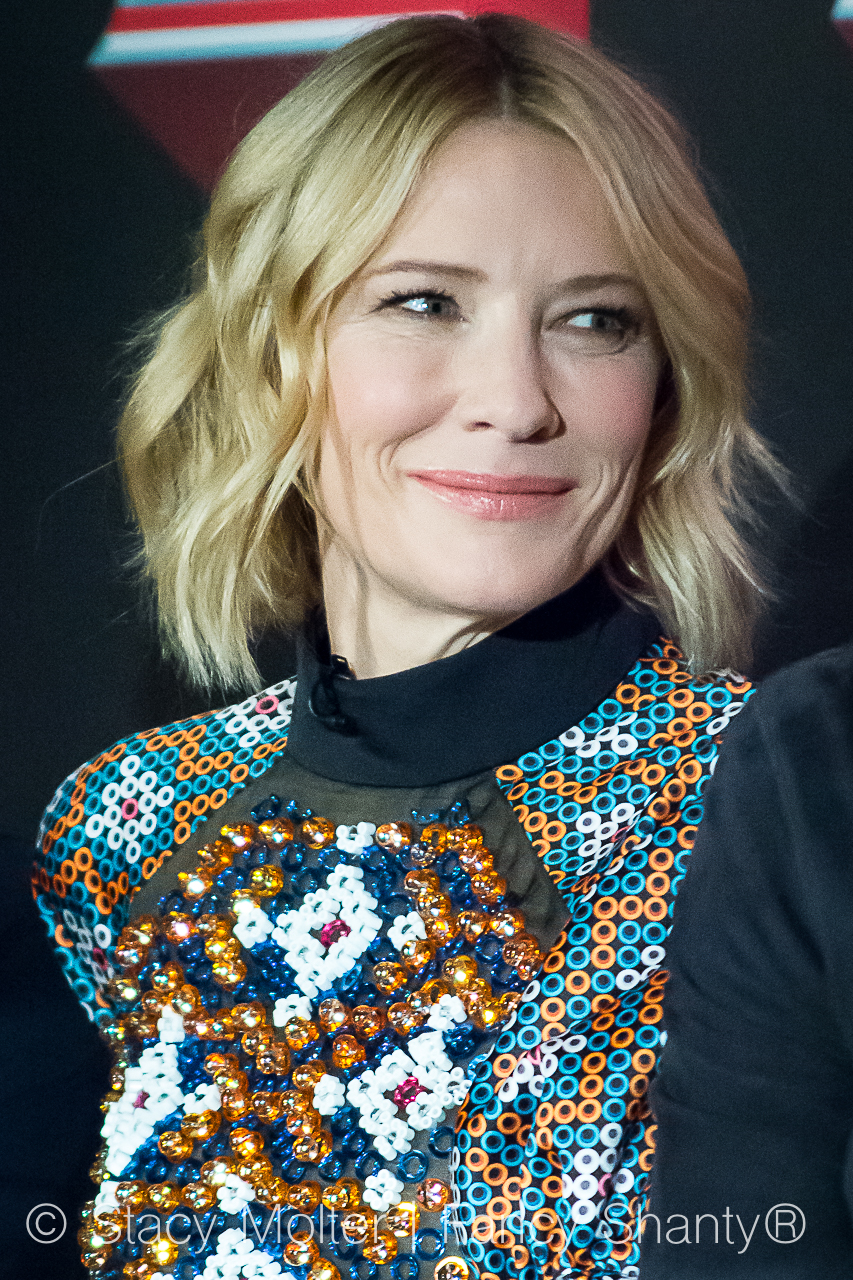 Cate Blanchett - MARVEL's THOR: Ragnarok Press Conference
