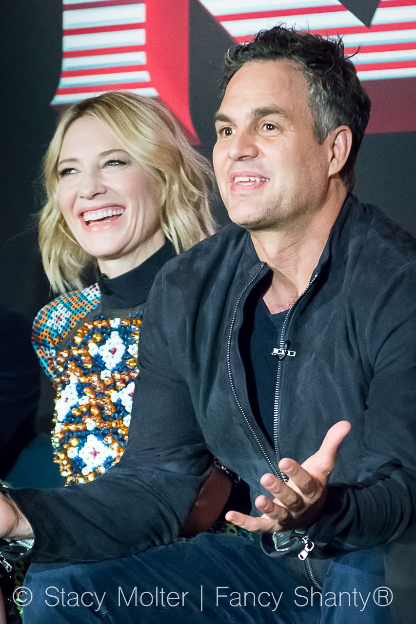 Mark Ruffalo, Cate Blanchett - MARVEL's THOR: Ragnarok Press Conference
