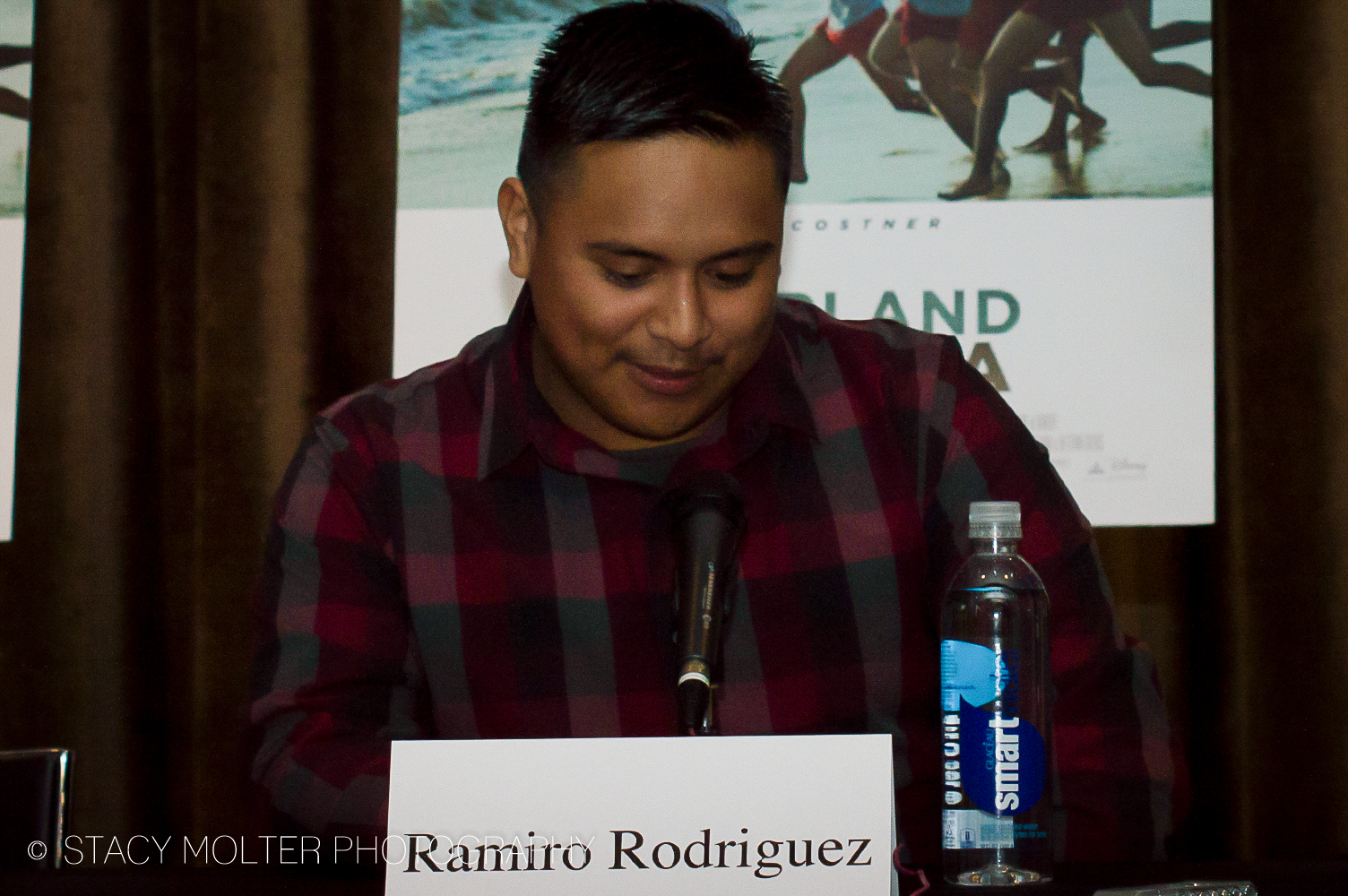 Ramiro Rodriguez - McFarland USA Press Conference Junket