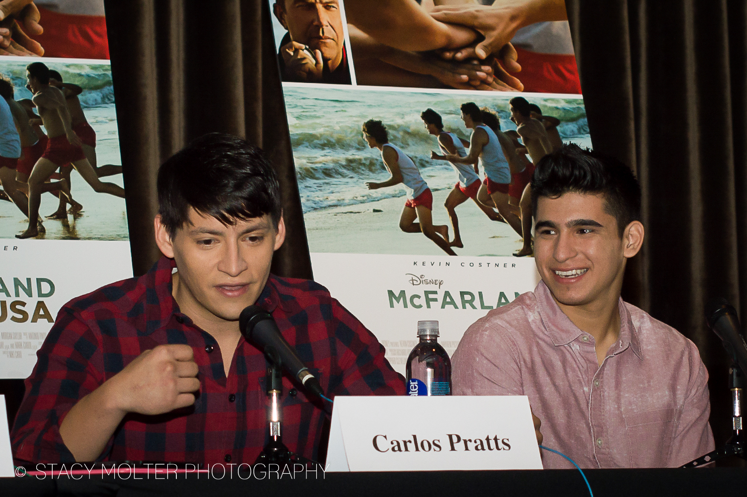 Carlos Pratts & Hector Duran - McFarland USA Press Conference Junket