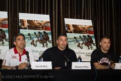 David Diaz, Damacio Diaz, Danny Diaz - McFarland USA Press Conference Junket
