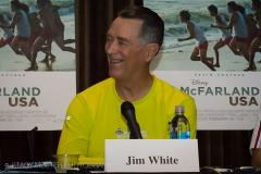 Jim White - McFarland USA Press Conference Junket
