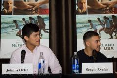 Johnny Ortiz & Sergio Avelar - McFarland USA Press Conference Junket