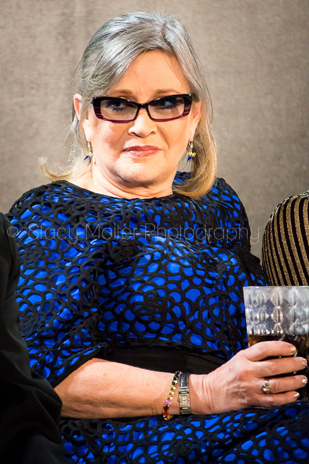 Carrie Fisher - Star Wars The Force Awakens Press Conference