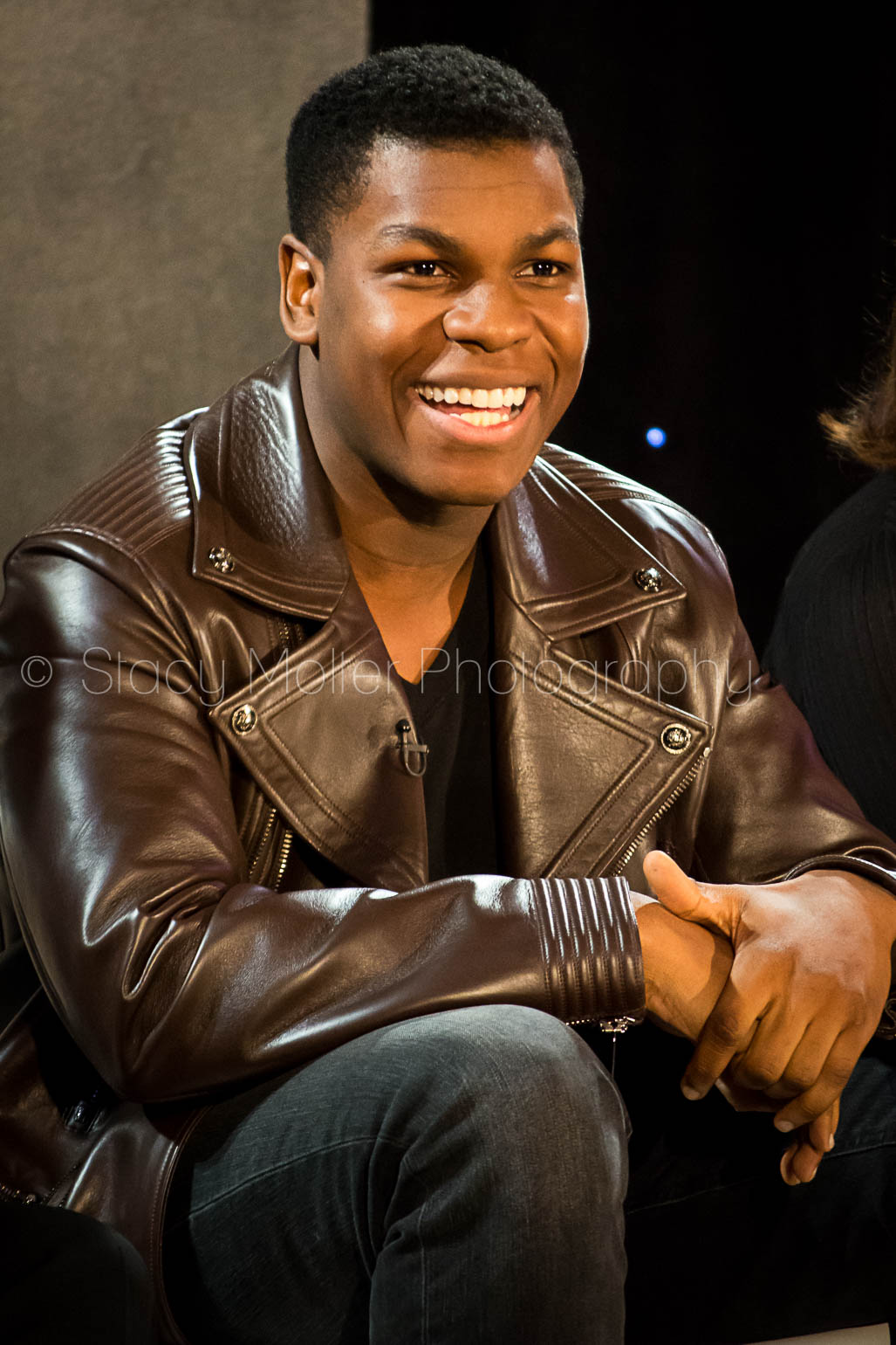 John Boyega - Star Wars The Force Awakens Press Conference
