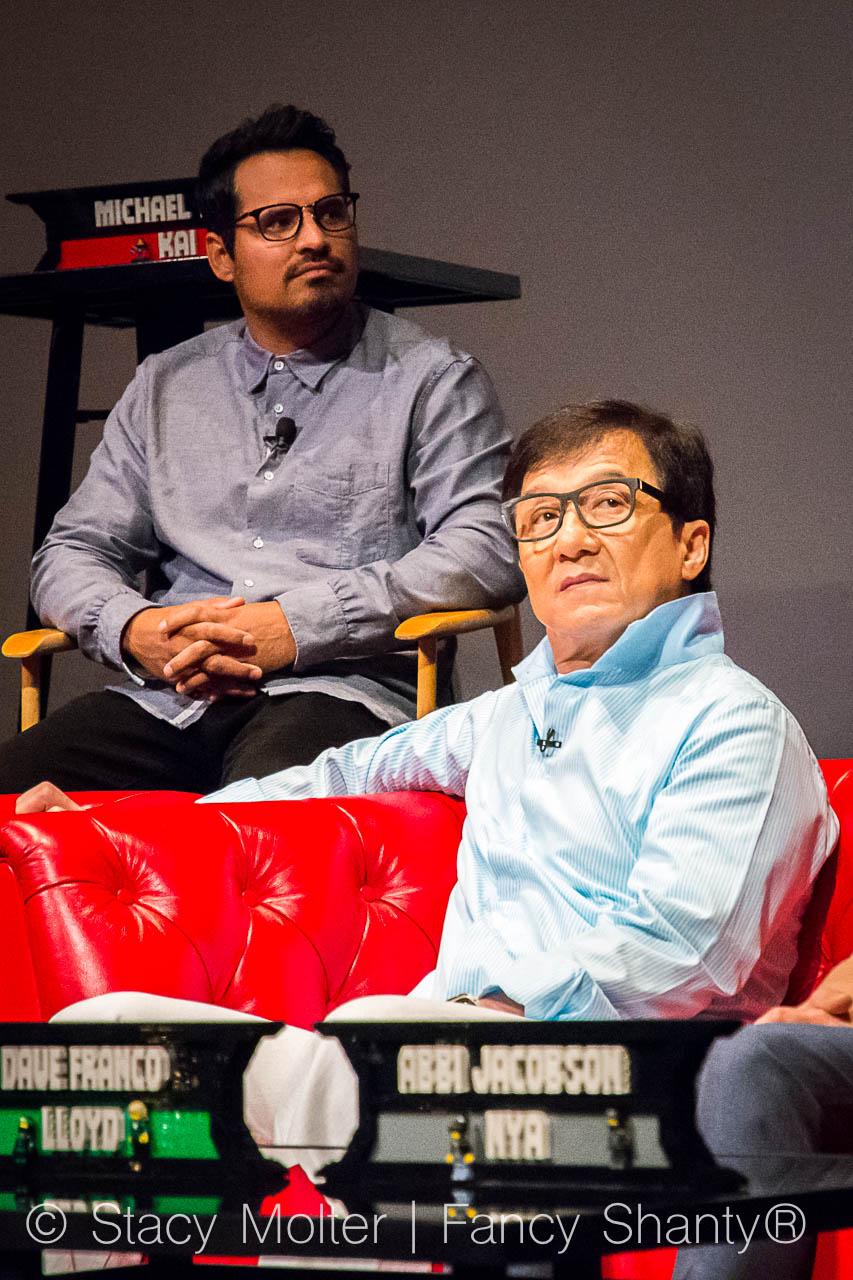Michael Pena - The Lego Ninjago Movie Press Conference