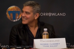 George Clooney - Tomorrowland Press Conference