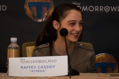 Raffey Cassidy - Tomorrowland Press Conference