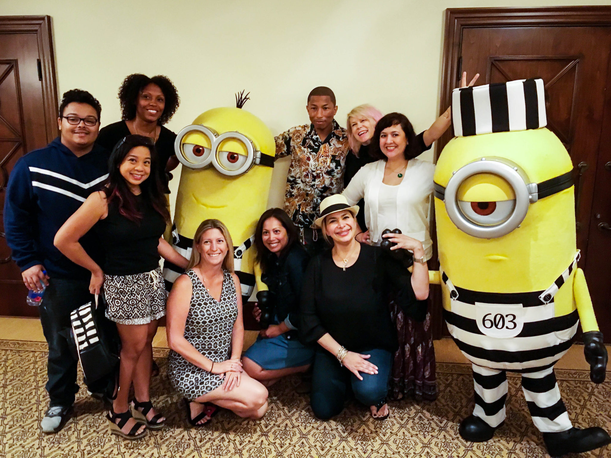 Pharrell Williams - Despicable-Me-3-Cast-Interviews-3 - Universal Pictures Despicable Me 3 Press Junket