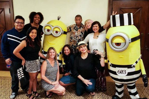 Pharrell Williams - Despicable-Me-3-Cast-Interviews-3 - Universal Pictures Despicable Me 3 Press Junket