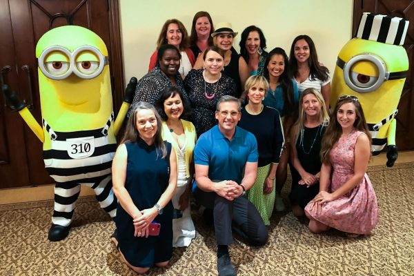 Steve Carell, Kristen Wiig - Universal Pictures Despicable Me 3 Press Junket
