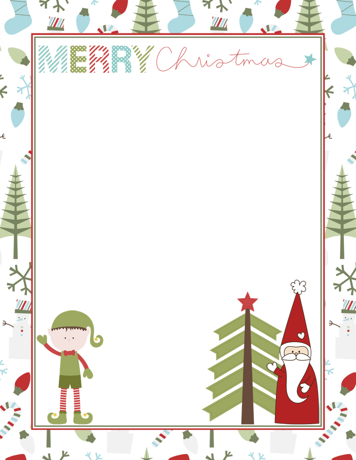Add your personal touch to this adorable FREE Printable Letter from Santa with a personalized note to a special child in your life.