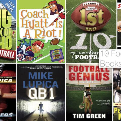 10 Football Books for Kids