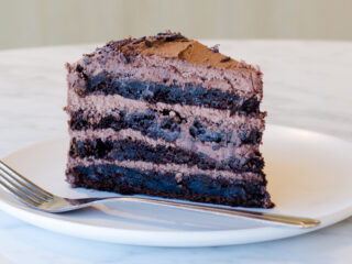 Best Decadent Dark Chocolate Cake Ever