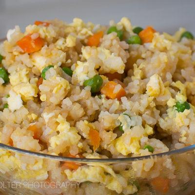 Easy Egg Fried Rice Recipe