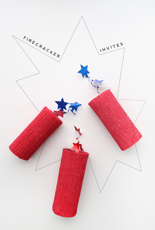 DIY Firecracker Favors for the 4th of July!