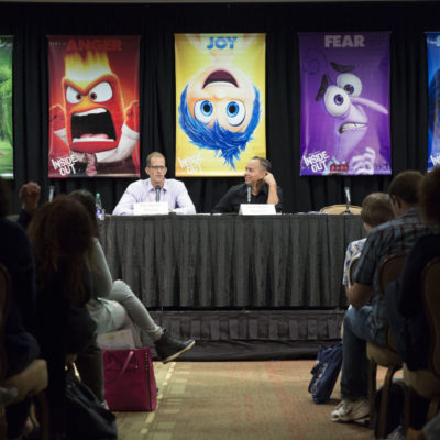 Disney Pixar Inside Out Q&A with Jonas Rivera And Pete Docter