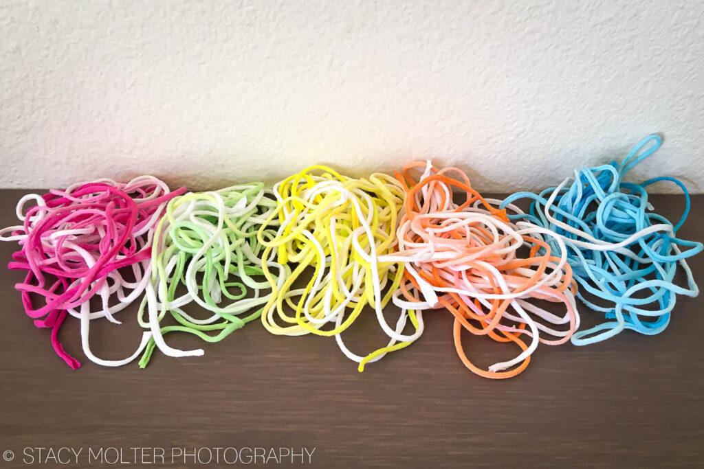 DIY T-Shirt Projects: Tie Dye Friendship Bracelet