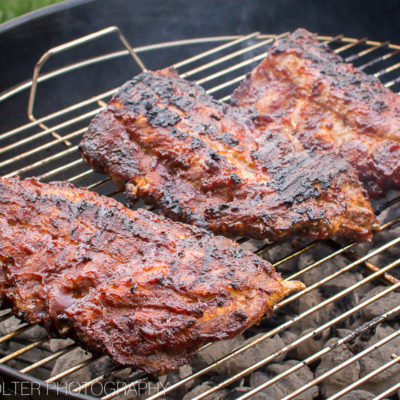 Perfect Fall Off the Bone Grilled Sweet BBQ Baby Back Ribs Recipe