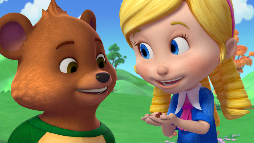 Disney Junior's Goldie & Bear – Chris Gilligan Brings Beloved Classic Fairy Tales Together in New Animated Series