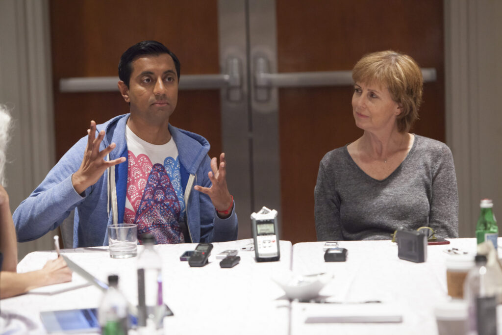 Interview with Disney•Pixar's The Good Dinosaur Director Sanjay Patel and Producer Nicole Grindle
