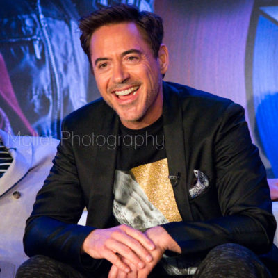 MARVEL's Captain America: Civil War Press Conference #TeamIronMan