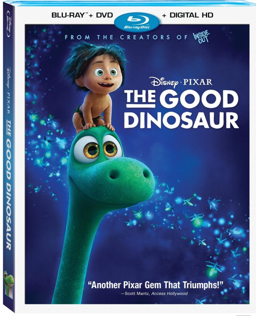 The Good Dinosaur Stampedes Home On Blu-ray™ Combo Pack