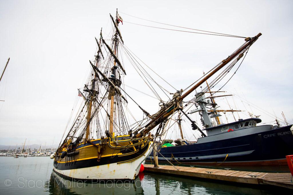 Ventura Harbor Village Tall Ships