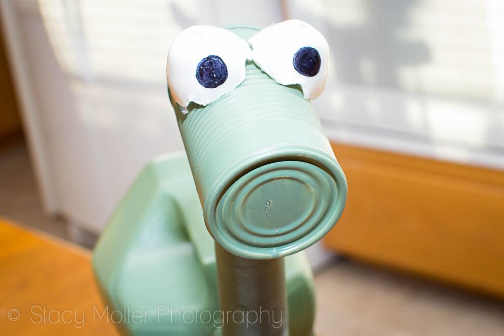 DIY The Good Dino Arlo Recyclosaurus Craft