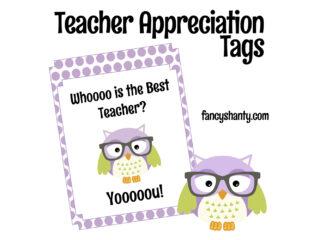 Free Printable Teacher Appreciation Gift Tags