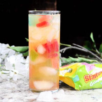 Hard Starburst Gummies Punch Cocktail