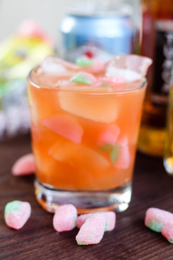 Sour Patch Bourbon Cocktail