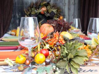 Easy DIY Thanksgiving Tablescape Ideas
