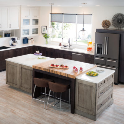 Holiday Prep with KitchenAid Black Stainless Steel Appliances