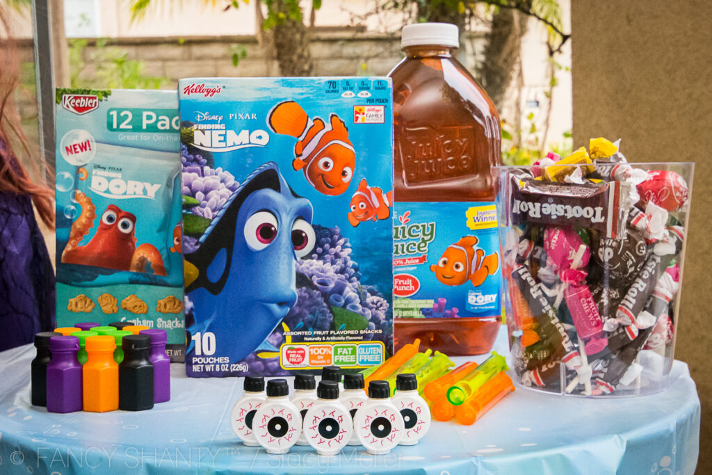 Ulitmate list of Finding Dory Halloween Party Ideas