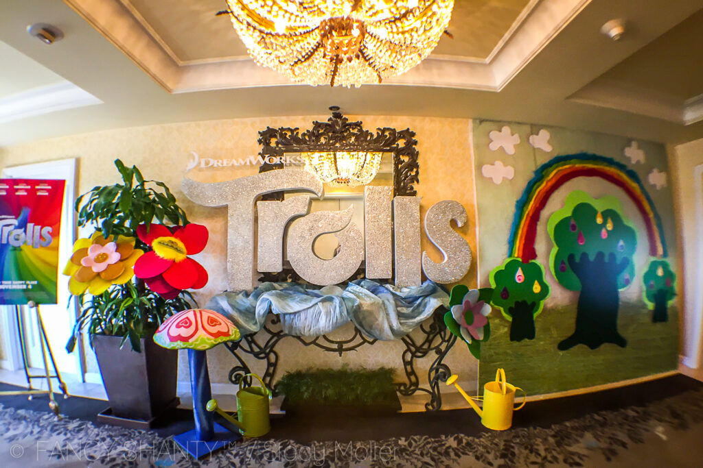 DreamWorks Trolls Movie Press Event