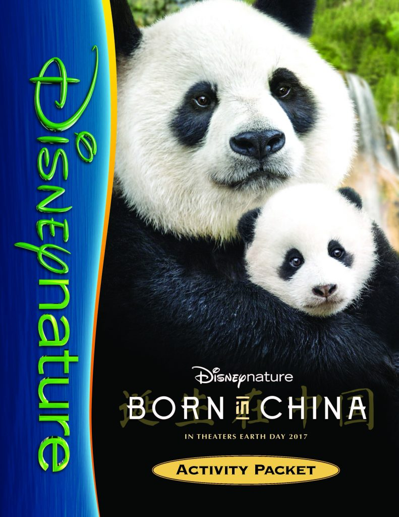 Disneynature Born in China Activities