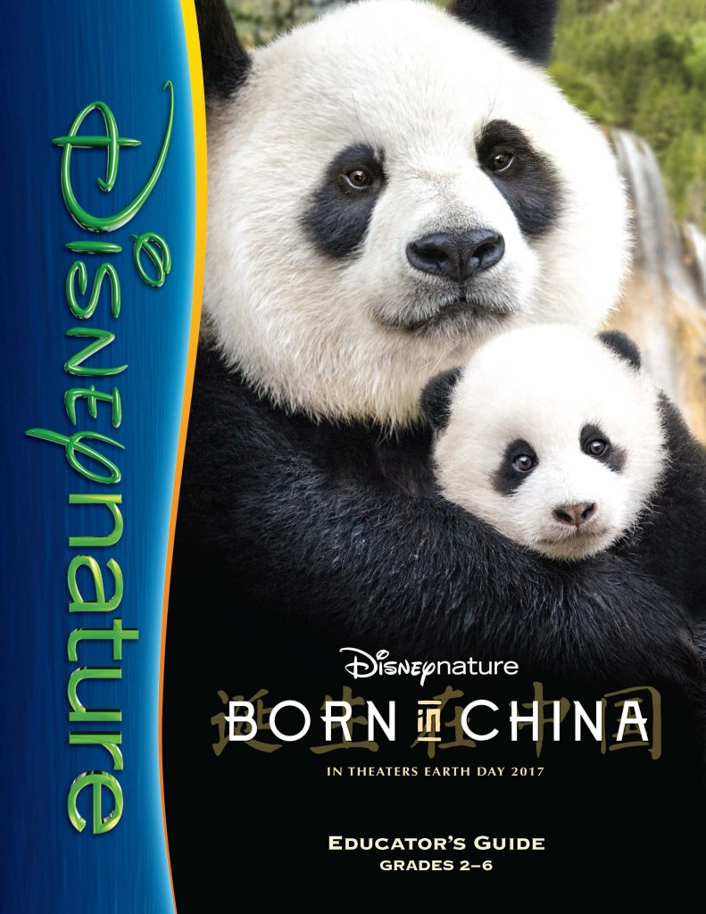 Disneynature's Born in China Educational Pack Grades 2-6