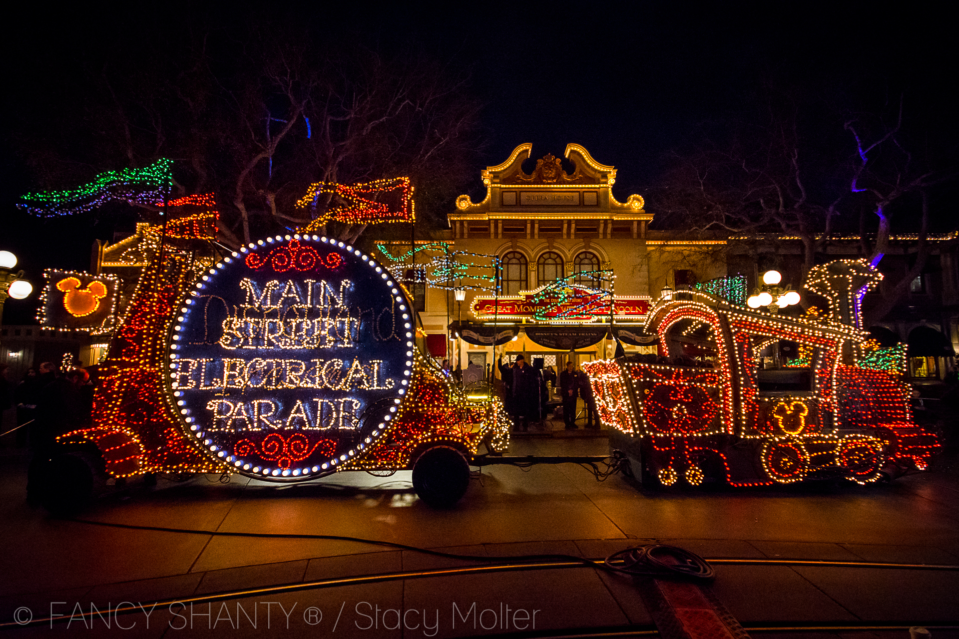 Disneyland's Iconic Main Street Electrical Parade Returns Home