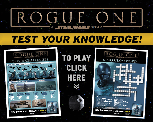 Rogue One Free Printables