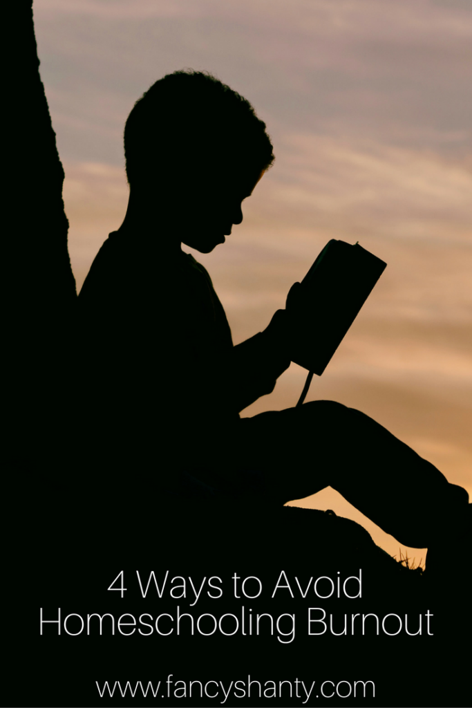 4 Ways to Avoid Homeschooling Burnout