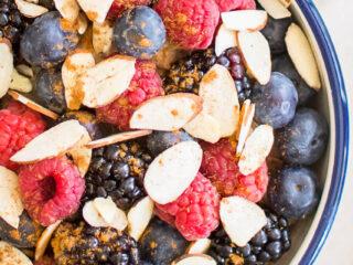 Berry Nutty Oatmeal