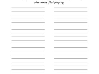 Count Your Blessings Free Printable