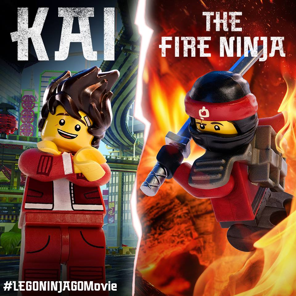 LEGO Ninjago Movie Junket