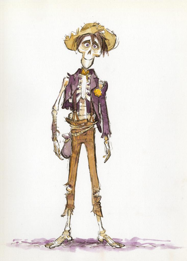 Bringing to Life the Dia de los Muertos Skeletons of Disney•Pixar's Coco