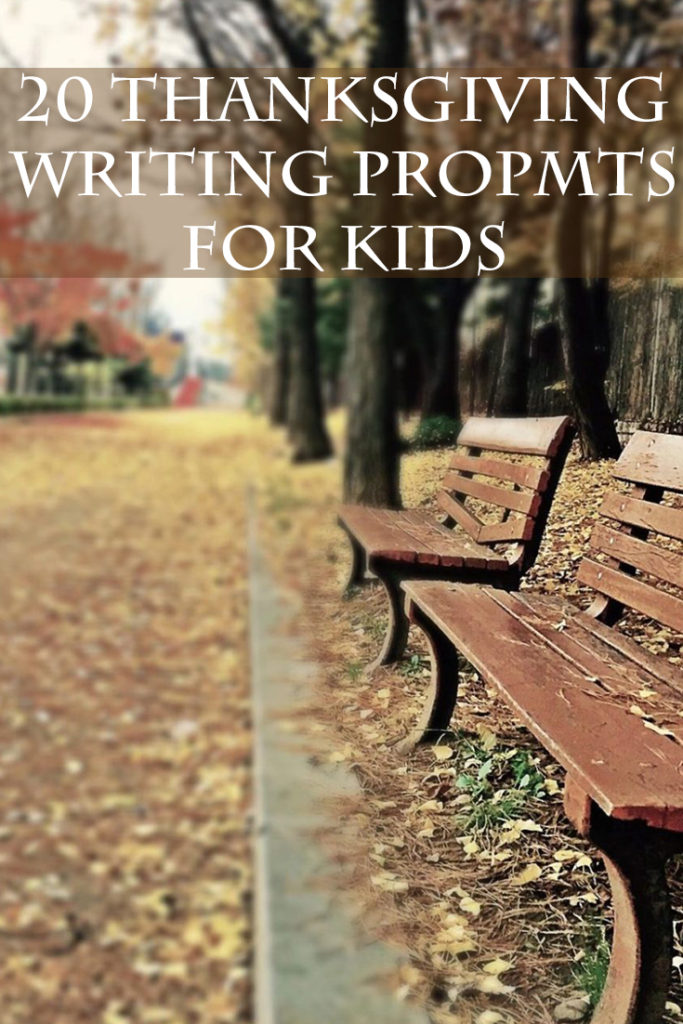 Thanksgiving Writing Prompts for Kids