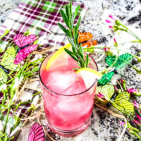 Citrus Island Guava Cocktail